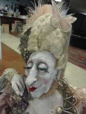 17 best images about art dolls on pinterest pinocchio mixed media and galleries - Stijl van marie antoinette ...
