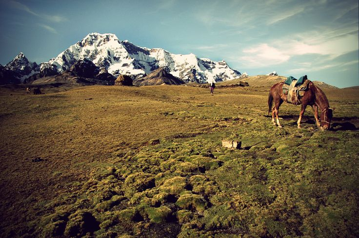Auzangate Trek - Peru .. Peruvian Landscape by ranmor.deviantart.com on @deviantART