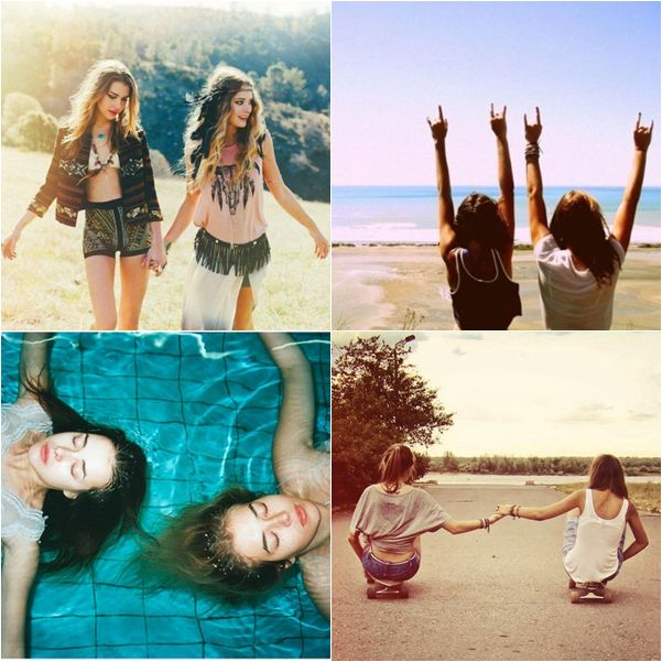 Blog da Andressa Cunha: Dicas de fotos: 41 Inspirações de fotos legais para tirar com amigas ♥