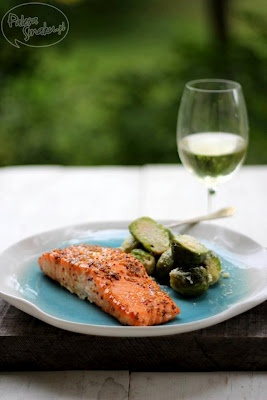 salmon with mustard and honey | :P | Pinterest