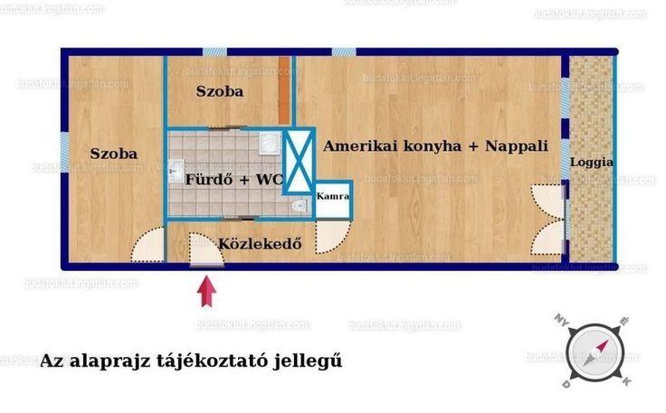 Eladó tégla lakás, II., Nyék, Kondor út, 46M - Utcakereso.hu