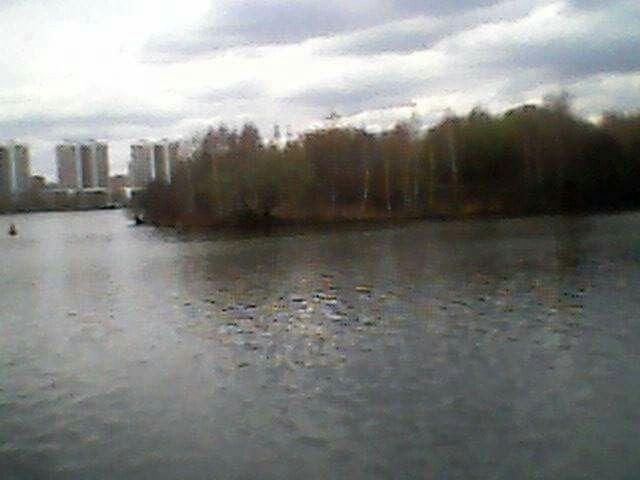 Остров ККВ на Москва Реке