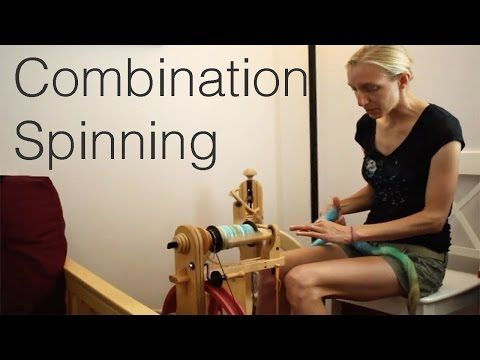 Combination Spinning, Plying, and Steaming Melissa Spins - YouTube