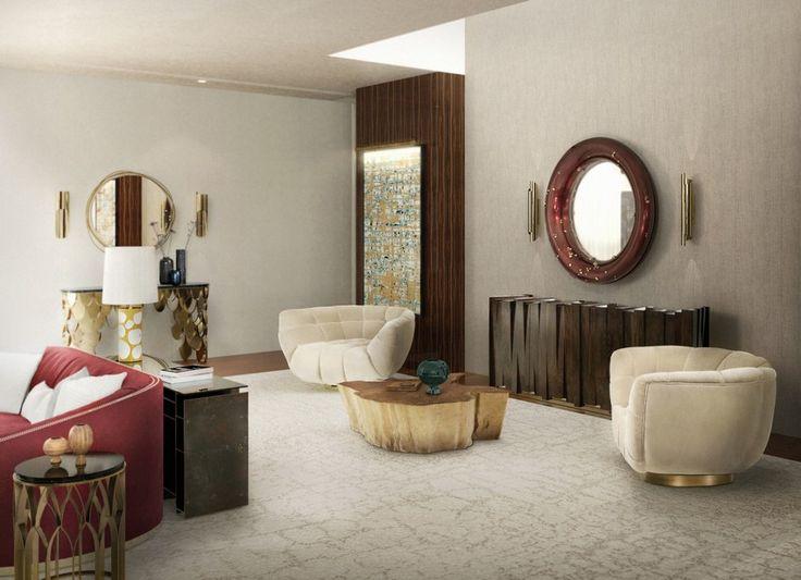 Die besten 25+ Wand der Spiegel Ideen auf Pinterest Spiegel - modernes badezimmer designer badspiegel