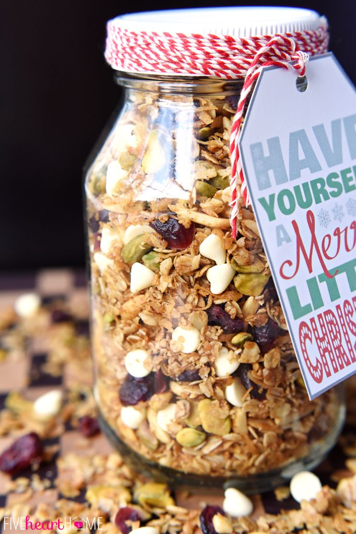 Healthy Christmas Gift Ideas Part - 26: Gingerbread Granola