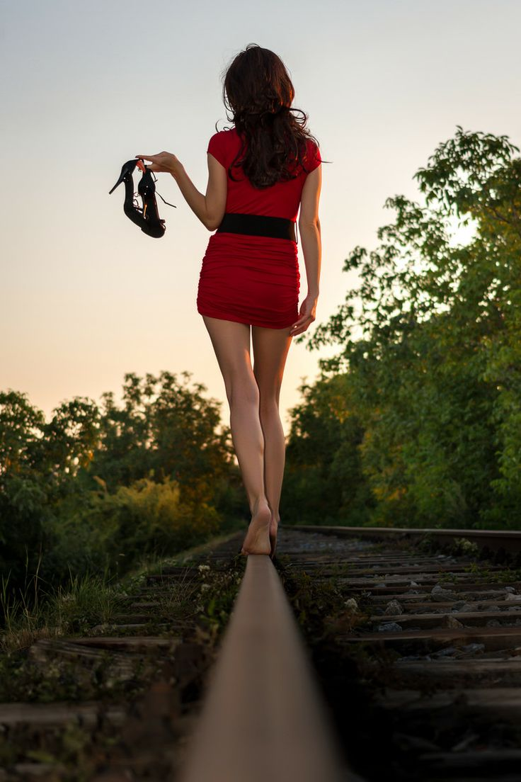 More poses for railroad. Photograph on the way... by Martin Belanský on 500px