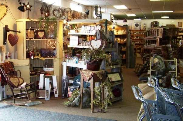 Country Primitive Store Displays