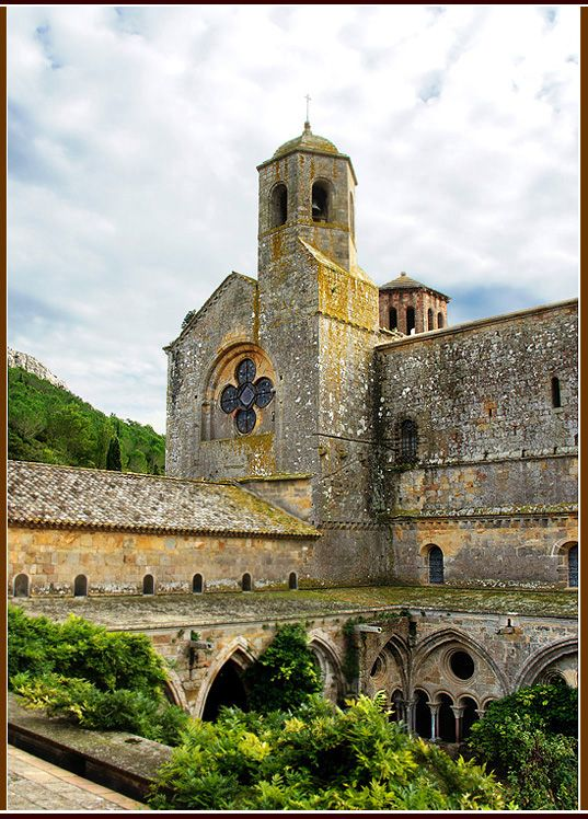 Fontfroide Abbey - Narbonne, France…