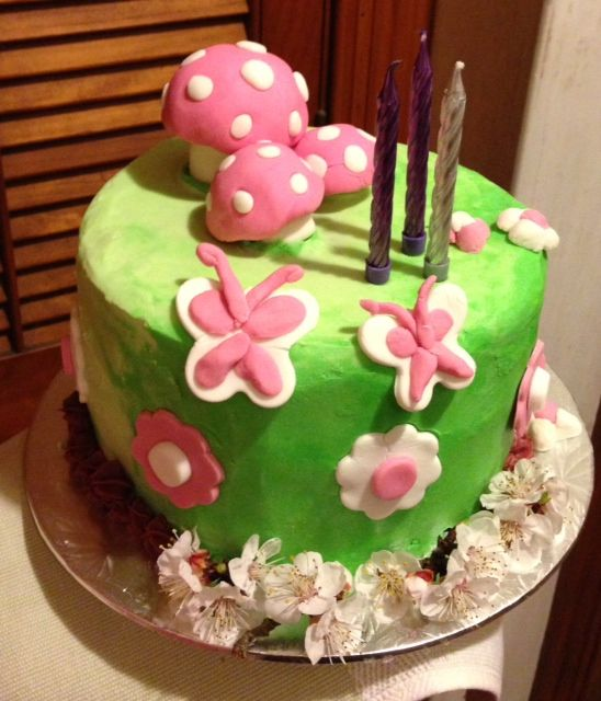 Brooklyn Zeta 3rd birthday cake