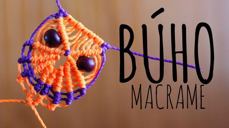 Búho de macramé / Tutorial ♥