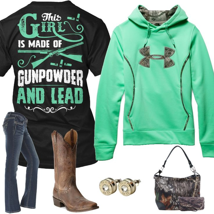 This Girl Is Made Of Gunpowder And Lead Outfit - Real Country Ladies