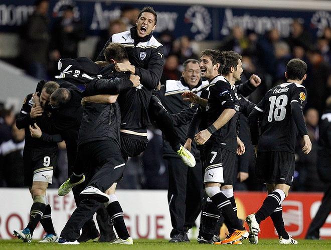 Tottenham vs PAOK 1-2
