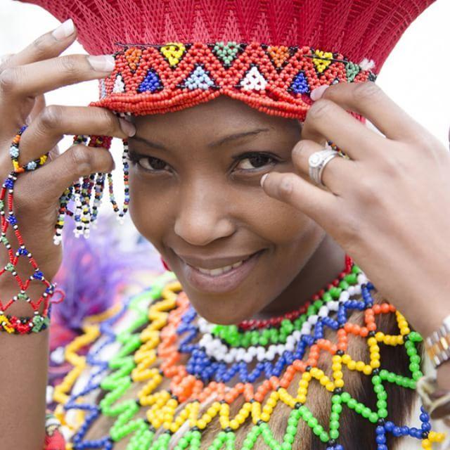 Traditional Zulu Bride  #Tradition #wedding #traditionalwedding #beads #beautiful #zulu #bride #stokerstudio