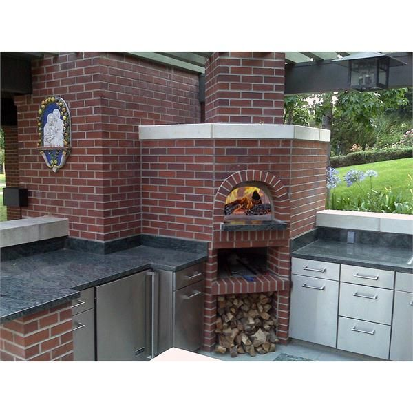 Toscano outdoor brick Wood Fired Oven from Wildwood Ovens