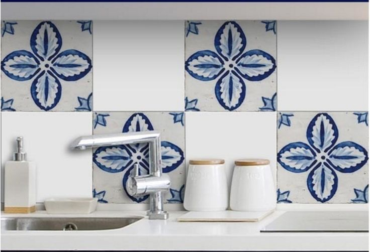 http://www.houzz.com/photos/47757443/Floral-Peel-and-Stick-Tiles-mediterranean-wall-decals