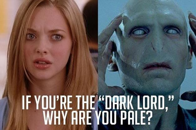 """""""Harry Potter"""" & """"Mean Girls"""" Mashed-Up Is Just As Magical As You'd Imagine. This just made my day."""