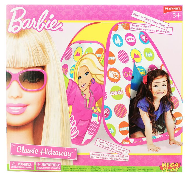 Barbie Play Tent from Funstra Toys