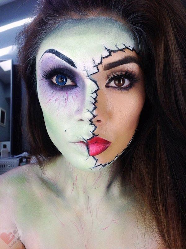 12 Fantastic Halloween Makeup Transformations - My Modern Metropolis