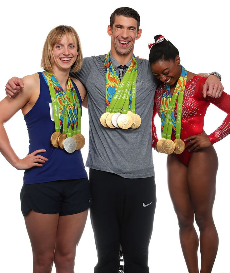 Michael Phelps, Katie Ledecky and Simone Biles SI Cover Shoot Outtakes | SI.com