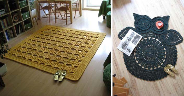 Táto šikovná žienka vytvára nádherné háčkované koberce, ktoré skrášlia každý domov