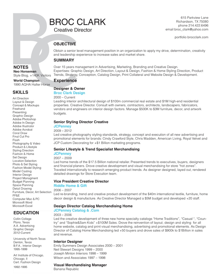 90 best Future images on Pinterest Creative director, Resume - creative director resume