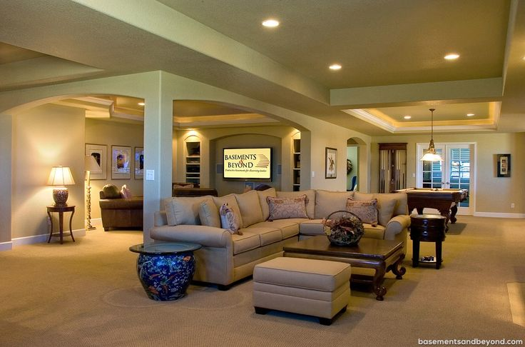 Open Floor Plans With Basement: 77 Best House Plans Images On Pinterest