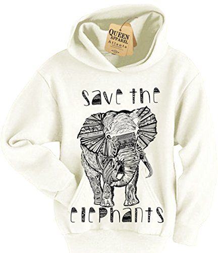 save the elephant hoodie girls hoody sweat shiramerican apparel, conserve, conservation, animals, animal, save the elephants, amazon, elephant shirt, save the rhinos, rhino shirt, rhino, ivory, africa