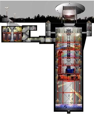 For Sale: Decommissioned Missile Silo, 40 Feet Underground