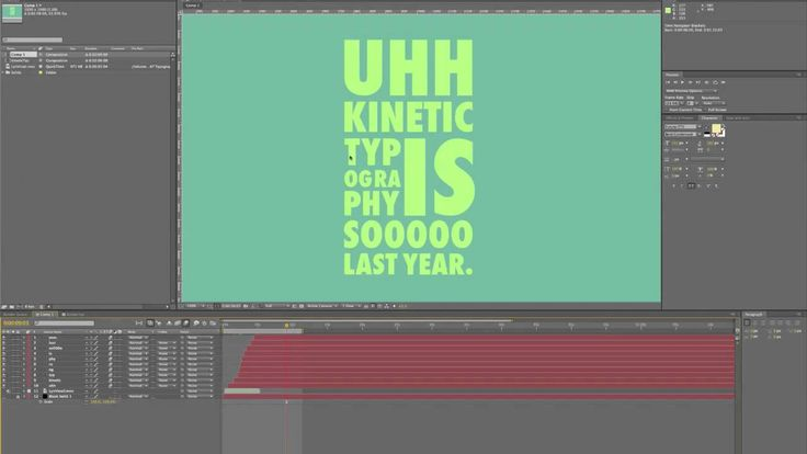 A good reference that I come back to frequently for little refreshers on the subject of kinetic typography.