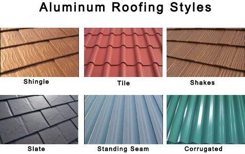 Aluminum Roof Styles