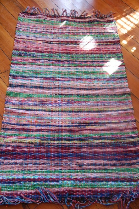 Rag Rug Crazy As A Loom Weaving Studio Pinterest Rugs And