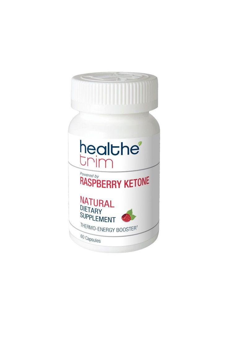 Healthe Trim Raspberry Ketone Healthy Weight Loss Dietary Supplement Diet Pills
