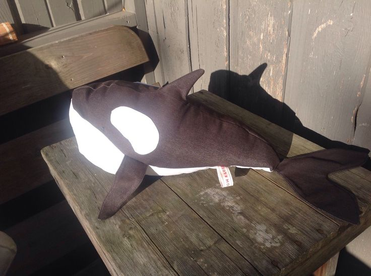 Kelly the Killer Whale by 0815 on Etsy https://www.etsy.com/listing/210853392/kelly-the-killer-whale