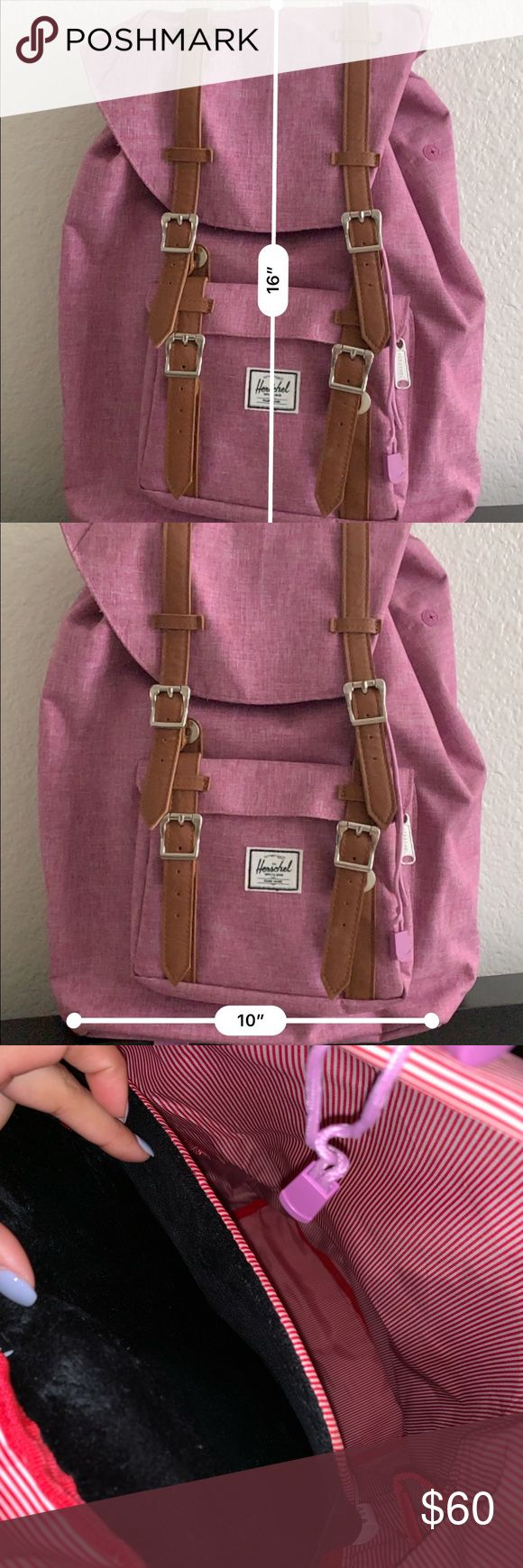 Herschel Backpack Only used a handful of times. P…