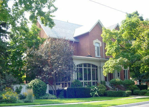 Belleville, Ontario; Old East Hill; full of gracious historic homes