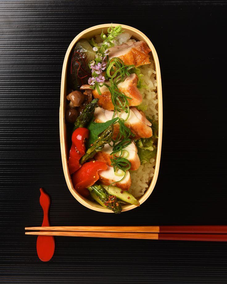 鶏肉ポン酢焼き弁当 / Pan-Seared Ponzu Chicken Bento お弁当を作ったら #edit_jp で投稿してね!
