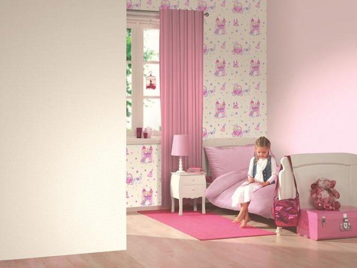 Słodkie królestwo małej księżniczki. Zdjęcie pochodzi z http://innetapety.pl/aranzacje-pokoju-dzieciecego