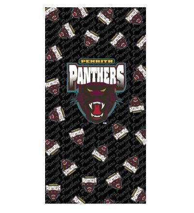 PENRITH PANTHERS #beachtowel
