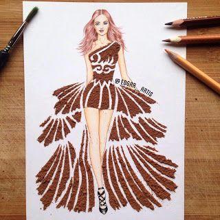 zhannadesignfromart: стильное платье
