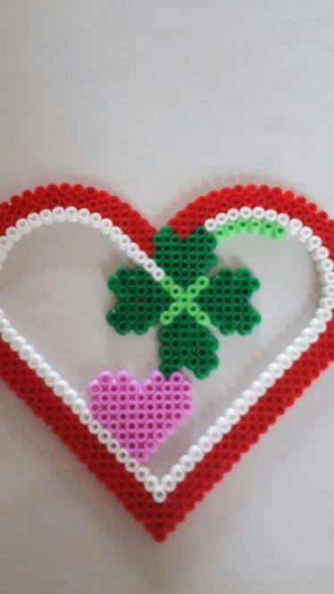 Lykke hjerte
