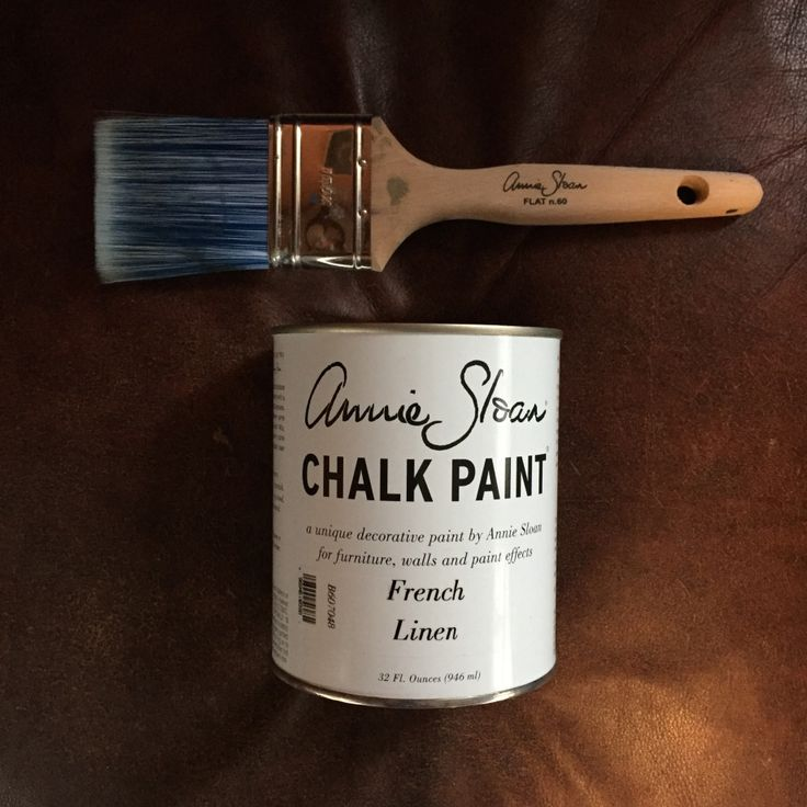 DIY Painting Leather with Chalk Paint