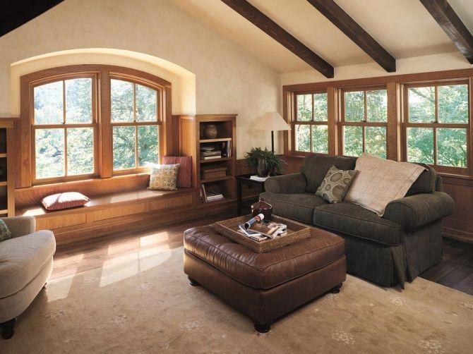 アルティメット・ダブルハング・ラウンドトップ|製品紹介|木製サッシ・木製窓と暮らす歓びをご提案します|マーヴィンウインドーズ&ドアーズ