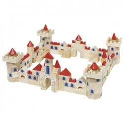 This Magnificent Castle Building Set Provides All The Blocks And Shapes To Stimulate Any Little Builder When 145 Pieces Are Joined Together They Become