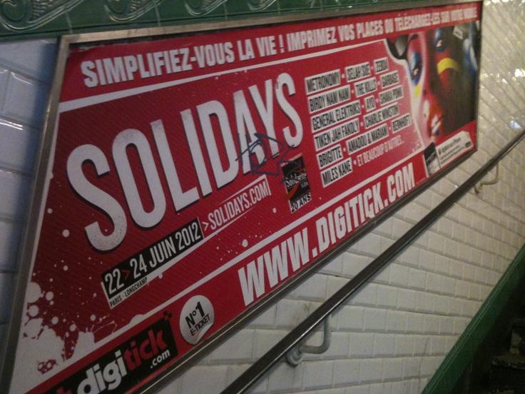 campagne métro 2012