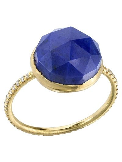 IRENE NEUWIRTH Rose Cut Stone Ring