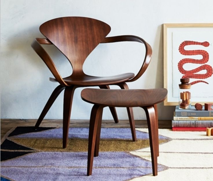 Cherner Armchair & Side Table