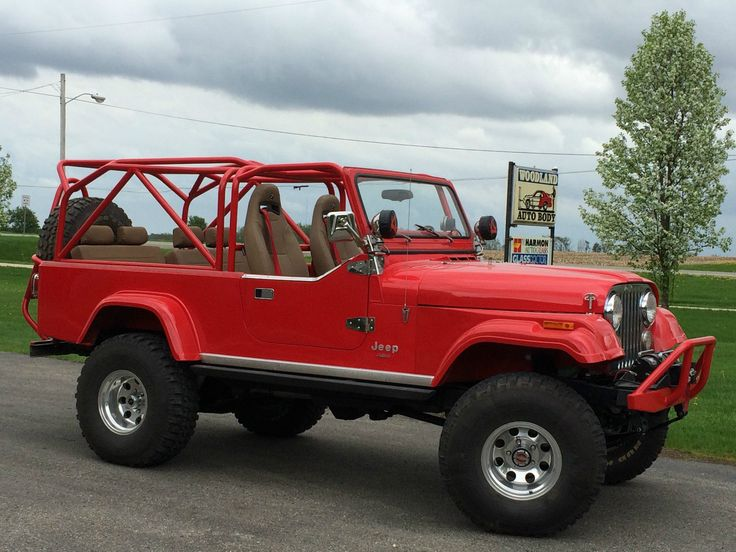 '82 Jeep Scrambler Pick Up