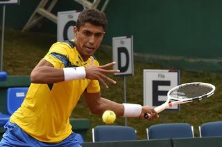 Blog Esportivo do Suíço:  Monteiro vence, Brasil faz 2 a 0 e fica a uma vitória da classificação na Copa Davis