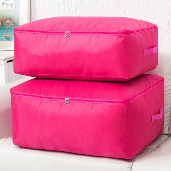 Women Nylon Waterproof Quilt Storage Bag Home Large Storage Bag $6