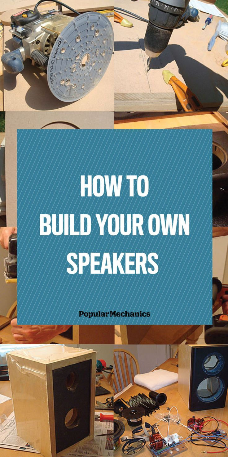 Skema box speaker woofer search results woodworking project ideas - Learn How To Make Your Own Speakers Your Way The Right Way Diy